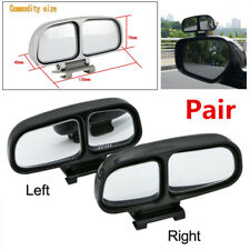 Pair Blind Spot Square Mirror Auto Wide Angle Side Rear View Mirror For Parking