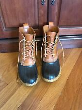 Bean Boots By L.L. Bean Women's Leather/Rubber Size7