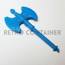 MOTU HE-Man And The Masters of the Universe Weapon - WEAPONS PACK - Blue Axe