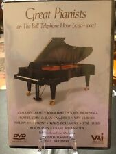 Great Pianists On The Bell Telephone Hour 1959 - 1967 (Dvd,2000) Sealed