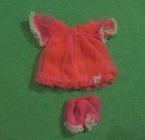 Vintage Skipper Doll - MOD Era Skipper 1967 Jazzy Jamys Top and Panties