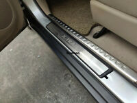 For Nissan T32 X-trail Accessories Door Sill Protector Scuff Plate Car Sticker