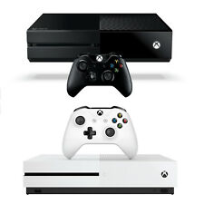 Microsoft Xbox One 500GB Console with Controller in Black or White (Model 1540)