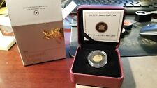 2012 CANADA 1/25th Oz. PROOF GOLD FAREWELL ADIEU TO THE PENNY .9999 GOLD