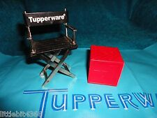 VINTAGE TUPPERWARE TUPPER TOY BUSY BLOCK REPLACEMENT RED LETTER V FOR VIOLIN