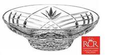 RCR Orchidea 30cm Tazón de fuente grande de cristal italiano de Cristal de Plomo Tazón pieza central de la fruta