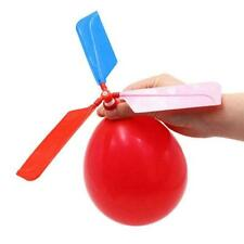 Kids Educational Toy DIY Balloon Rocket Helicopter Scientific Gift Handmade O1G9