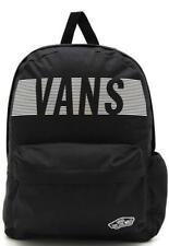 Vans Good Sport Realm Black Reflective Funday Backpack Bookbag New NWT