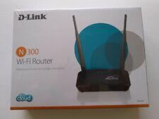 D-Link Cloud DIR-605L WiFi Wireless Router N 300 Mbps 4-Port Ethernet 10/100