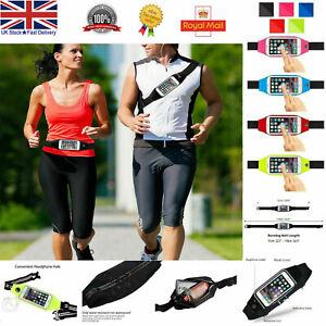 Sports waist Belt Mobile Phone Holder Bag Running Gym Travel WaistBand Exercise