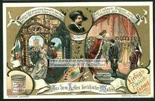 Rubens Flemish  Baroque Painter Artist c1903 Trade Ad Card