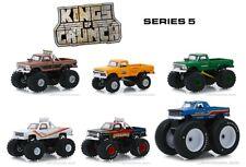 Greenlight 1/64 Kings Of Crunch Series 5, Set of 6 BigFoot Monster Trucks 49050