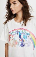 Moschino my little pony rainbow t shirt xs