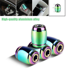 Car Wheel Tire Valve Cap Nozzle Decorative Cover Anti-theft Air Dust Universal
