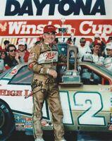 1988 Bobby Allison signed Miller Buick Daytona 500 Win NASCAR 8x10 Photo