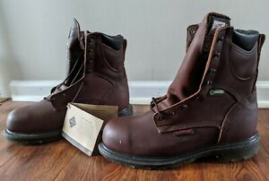 Red Wing Gore-Tex Supersole 2.0 Waterproof Safety Toe Boot E2412 Size 9.5 E