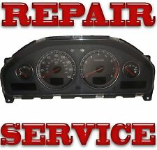 02-07 Volvo s60 Instrument Cluster Repair Service