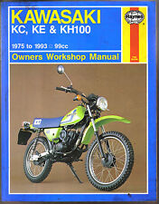 Kawasaki KC, KE & KH100 99cc Haynes Owners Workshop Manual 1975-1993