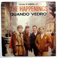 HAPPENINGS 45 Quando Vedro / Aria Di Settembre NEAR MINT Mod Beat  ITALY e0499