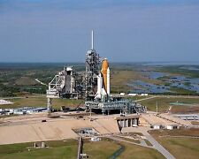 Space Shuttle Columbia rolls out to launch pad on crawler for STS-75 Photo Print