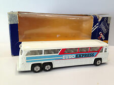 Vintage Corgi Toy Car Transporter Euro Express Bus Die Cast Model