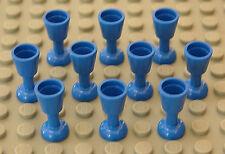 LEGO - 10 x Becher / Kelch blau / Kelche / Blue Goblet / 2343 NEUWARE