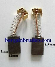 Kohlebürsten für Mafell Säge MKS55 MKS 55 KFU 1000 KUNST Kachel Rillen HS53A E92