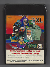MEGO 2-XL TALKING ROBOT 8 TRACK TAPE INTERVIEWS W GREAT PEOPLE FROM HISTORY TEST