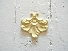 Set Of 4 Furniture Appliques-Stainable-Paint able-$5.95 No Limit Shipping