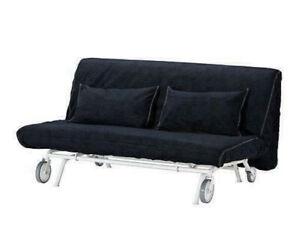 Original Cover for Ikea PS 2 Seat Sofa Bed in Vansta Dark Blue 601.848.12