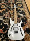Ibanez PGMM31-WH Paul Gilbert miKro 3/4 scale guitar (white) for sale