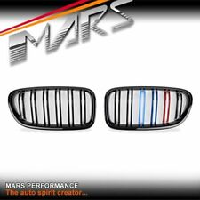 Gloss Black M5 Stripe Style Bumper Bar Grill Grille for BMW 5 Series F10 & F11