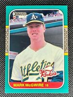 1987 Donruss The Rookies Mark McGwire #1 Rookie Card RC Oakland Athletics