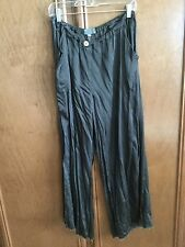 "Cp Shades Santa Monica washed satin ""Hattie"" pant size L"