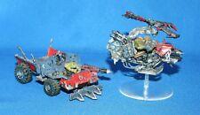WH40K Warhammer 40K Space Orks-Pintado Espacio Orko trukk & deffkopta