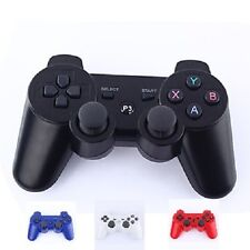 Manette ps3 sans fil Bluetooth (Noir, Blanc, Rouge, Rose ou Bleu)