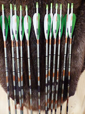 12 New Easton 2117 Aluminum XX75  Arrows 4 Inch Feathers Right Helical Fletched
