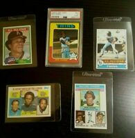 ROD CAREW FIVE BASEBALL CARD LOT 1975 O-PEE-CHEE #600 HALL OF FAME PSA EXCELLENT
