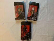 Star Wars Black Series Figures Lot - Kanan Jarrus, Ahsoka Tano, K-2S0