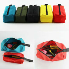 Zipper Tool Bag Firm Organize Storage Small Parts Hand Tool Plumber Electrician
