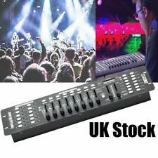 More details for uk 192 channels dmx512 controllers console dj disco bar stage lighting effect