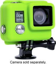NEW XSories Silicone Camera Cover HD3+ LIME GREEN for GoPro HERO3 HERO4 Housing