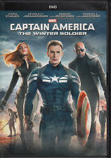 Captain america: The Winter Soldier (DVD, 2014) Very Good