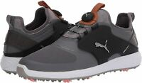 PUMA Men's Ignite Pwradapt Caged Disc Golf Shoe, Black, Size 10.0 hnSX