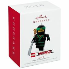 2018 Hallmark LLOYD Lego Ninjago Movie ORNAMENT