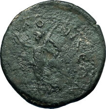 SEPTIMIUS SEVERUS 193AD Thessalonica Macedonia Ancient Roman Coin NIKE i66237