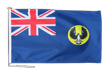 More details for south australia flag with rope and toggle - various sizes