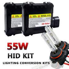 2PCS 55W HID Kit Xenon Bulbs 9006/HB4 Conversion Replacement Slim Ballast 6000K