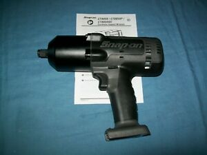 "New Snap-on™ Lithium Ion CT8850GMDB 18V 18 Volt cordless 1/2"" impact Wrench Gun"