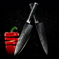 VG10 Japonais Damas 8 Pouces Chef Couteau 67Couches Damas Couteaux Cuisine Acier